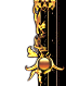 Dragontail Ornament